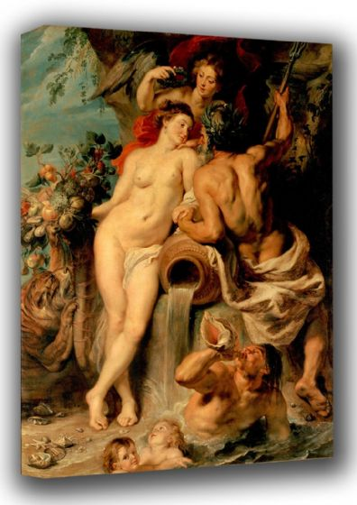 Rubens, Peter Paul: The Union of Earth and Water. Fine Art Canvas. Sizes: A3/A2/A1 (00553)
